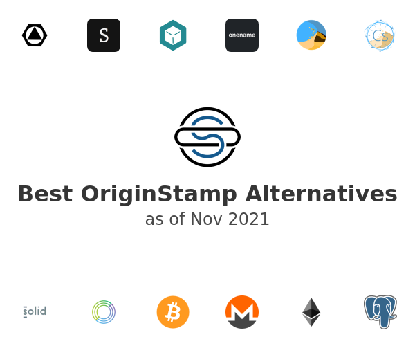 Best OriginStamp Alternatives
