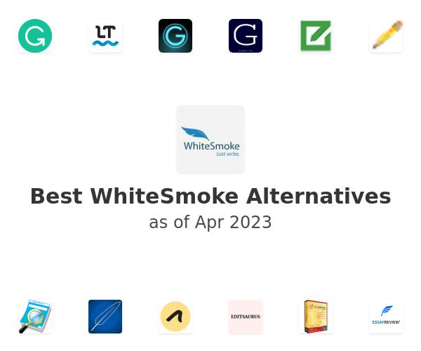 Best WhiteSmoke Alternatives