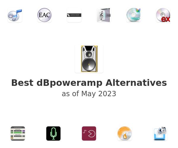 Best dBpoweramp Alternatives