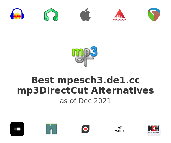 Best mpesch3.de1.cc mp3DirectCut Alternatives