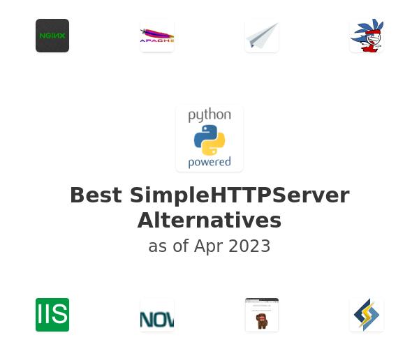 Best SimpleHTTPServer Alternatives