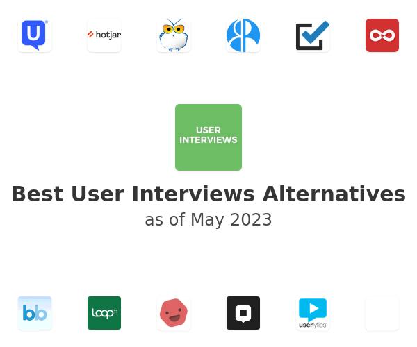 Best User Interviews Alternatives