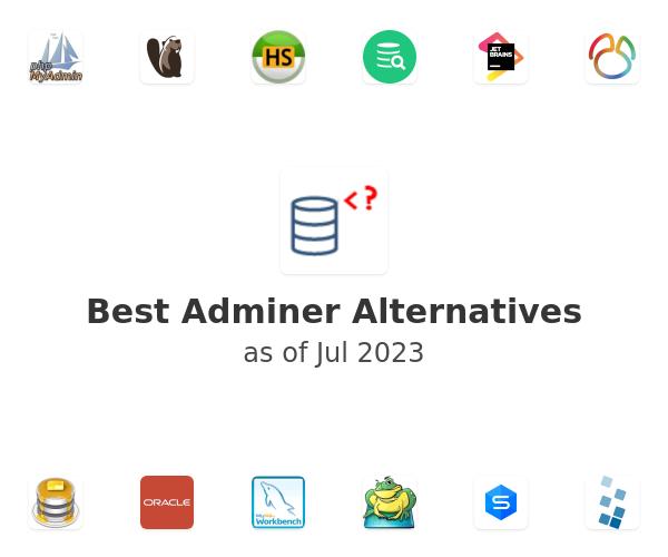 Best Adminer Alternatives