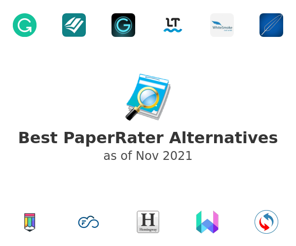 Best PaperRater Alternatives