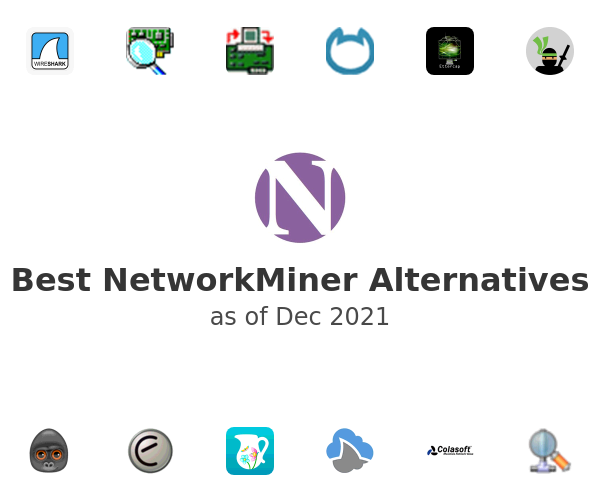 Best NetworkMiner Alternatives