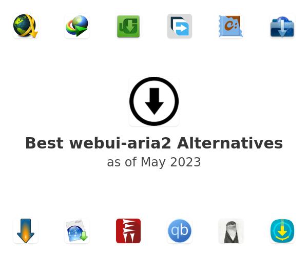 Best webui-aria2 Alternatives