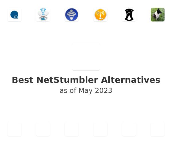 Best NetStumbler Alternatives