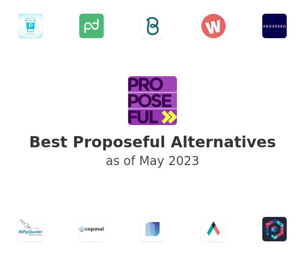 Best Proposeful Alternatives