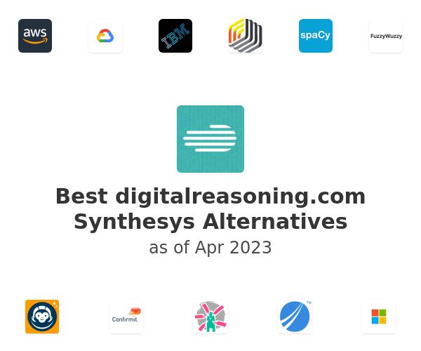 Best digitalreasoning.com Synthesys Alternatives