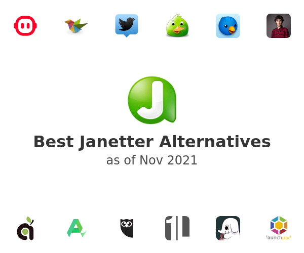 Best Janetter Alternatives