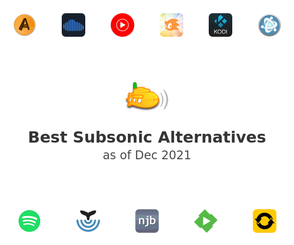 Best Subsonic Alternatives