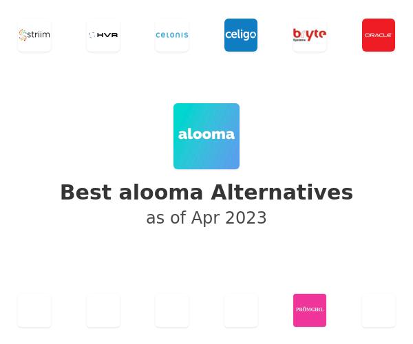 Best alooma Alternatives