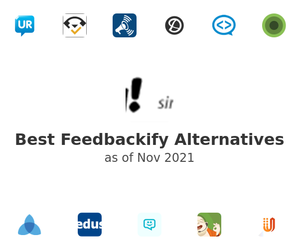 Best Feedbackify Alternatives