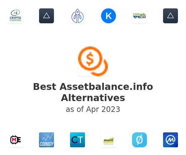 Best Assetbalance.info Alternatives