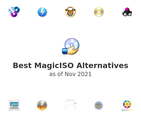 Best MagicISO Alternatives