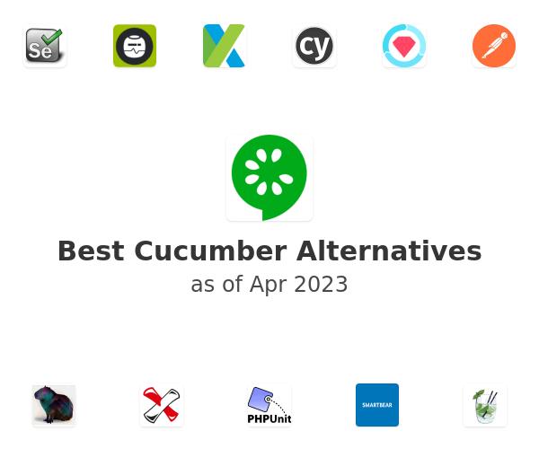 Best Cucumber Alternatives
