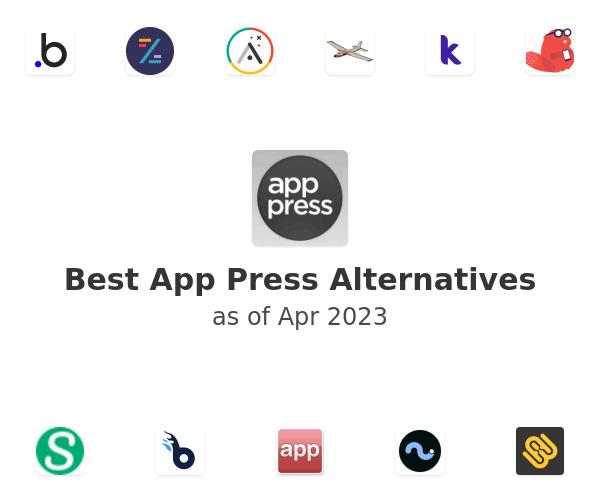 Best App Press Alternatives