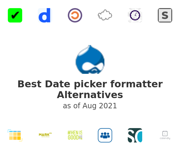 Best Date picker formatter Alternatives