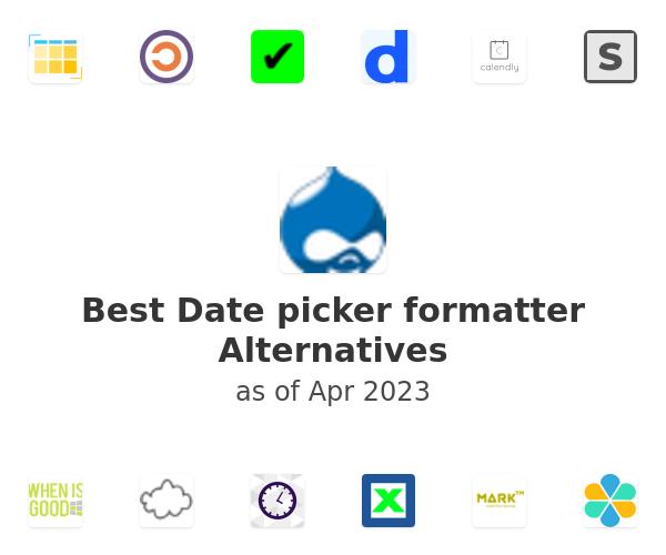 Best Date picker formatter Alternatives
