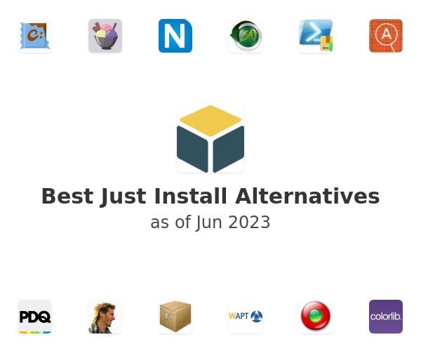 Best Just Install Alternatives