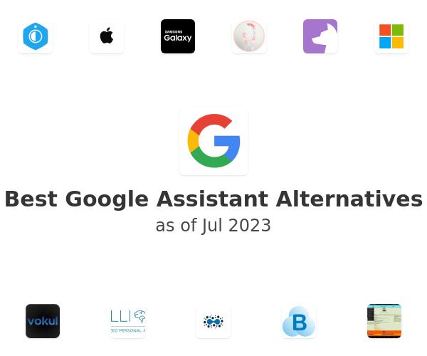 Best Google Assistant Alternatives