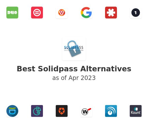 Best Solidpass Alternatives