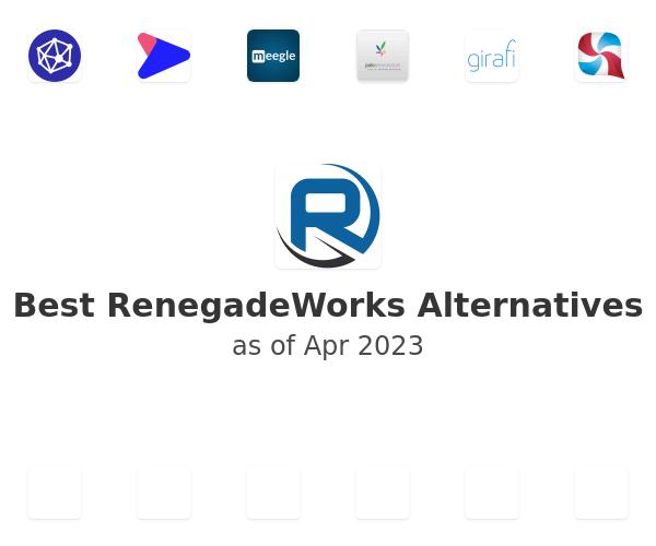 Best RenegadeWorks Alternatives