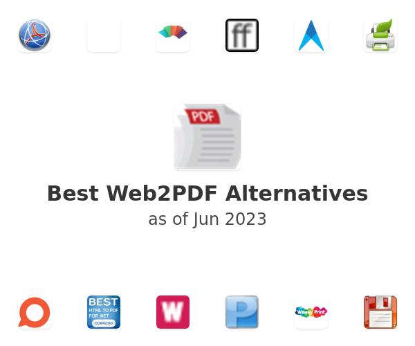 Best Web2PDF Alternatives