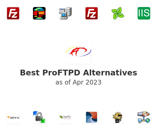 Best ProFTPD Alternatives