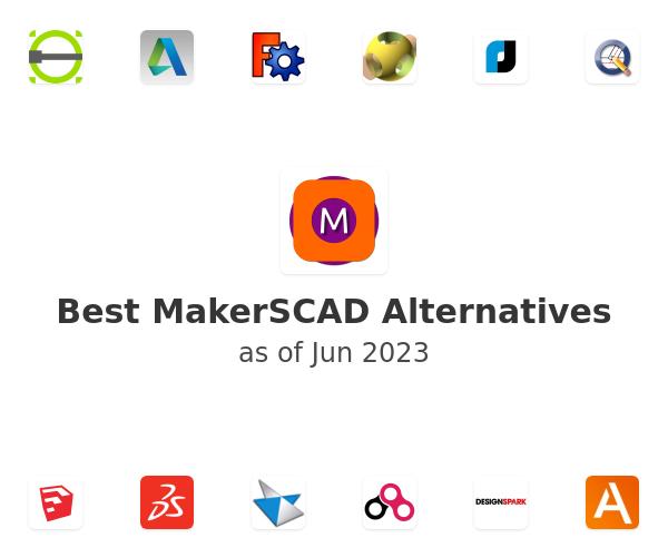 Best MakerSCAD Alternatives