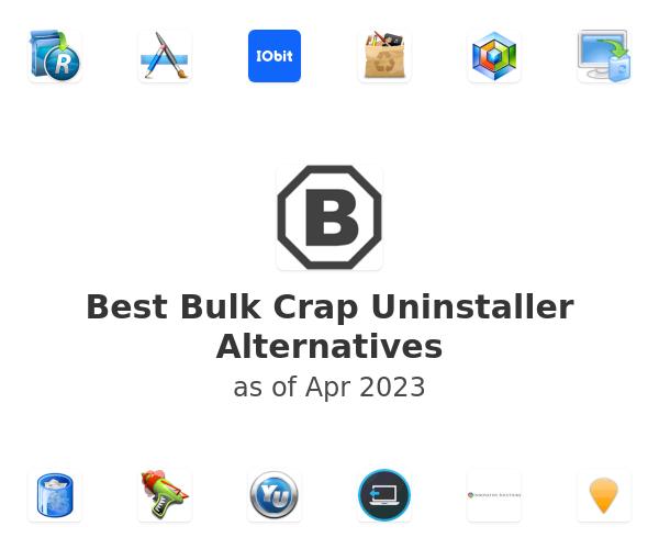 Best Bulk Crap Uninstaller Alternatives