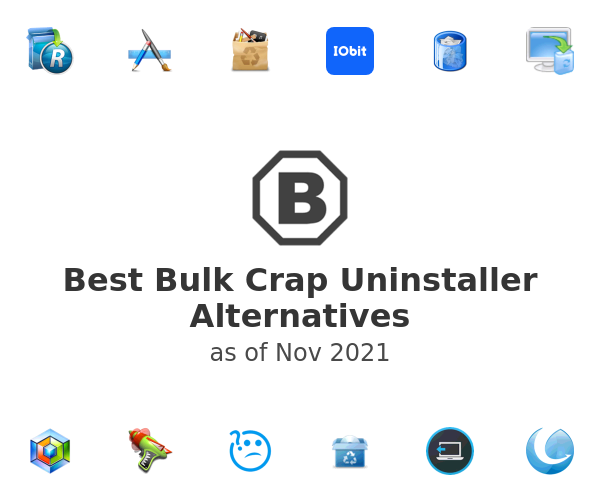 Best Bulk Crap Uninstaller Alternatives