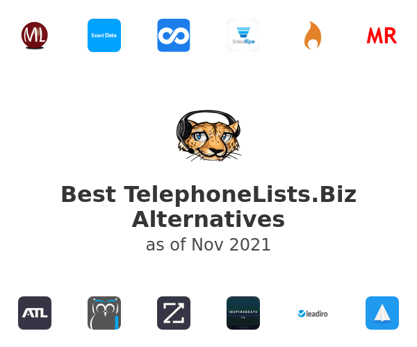 Best TelephoneLists.Biz Alternatives