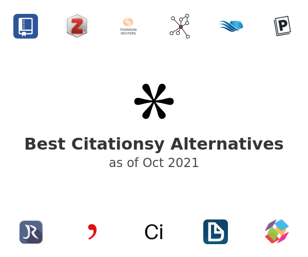 Best Citationsy Alternatives