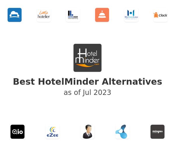 Best HotelMinder Alternatives