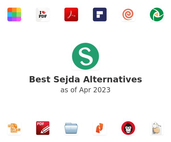 Best Sejda Alternatives