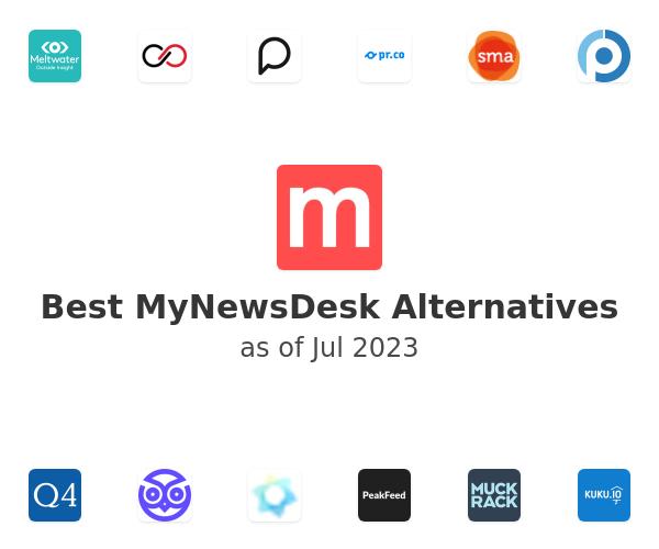 Best MyNewsDesk Alternatives
