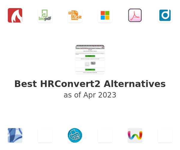 Best HRConvert2 Alternatives