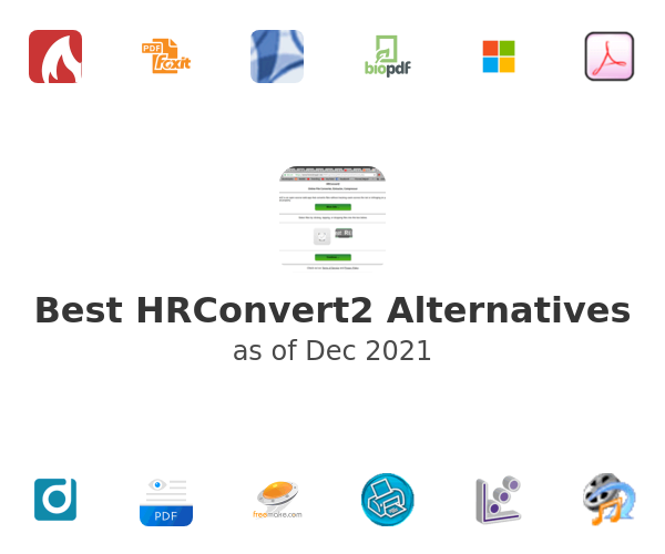 Best HRConvert2 Alternatives