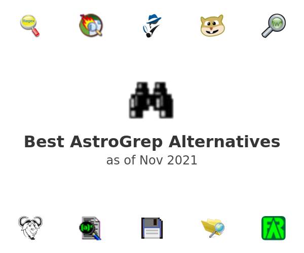 Best AstroGrep Alternatives