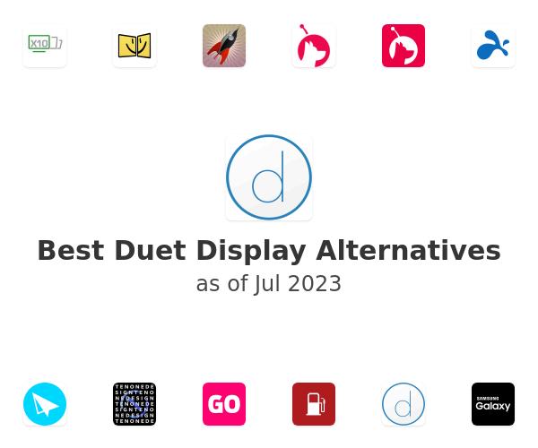 Best Duet Display Alternatives
