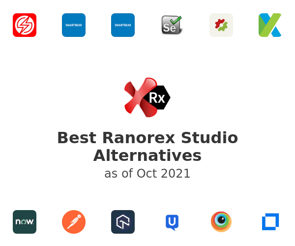Best Ranorex Studio Alternatives