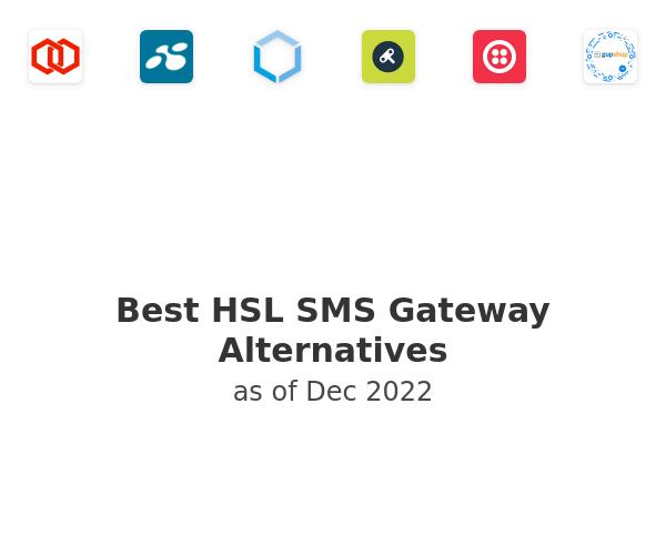 Best HSL SMS Gateway Alternatives