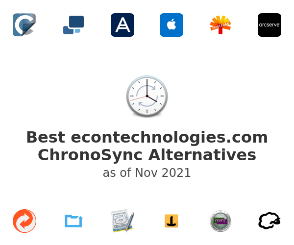 Best ChronoSync Alternatives