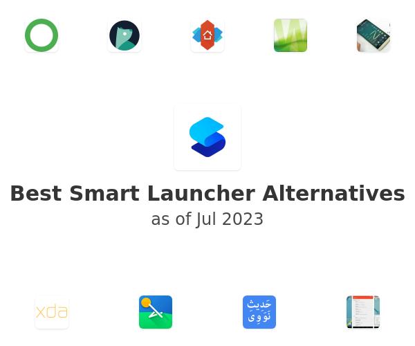 Best Smart Launcher Alternatives