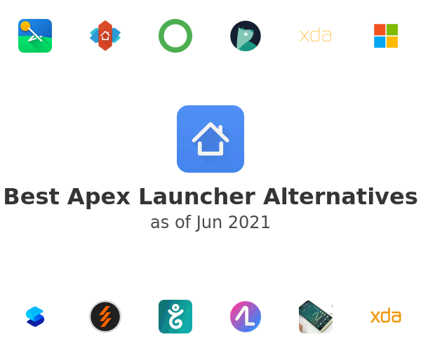 Best Apex Launcher Alternatives