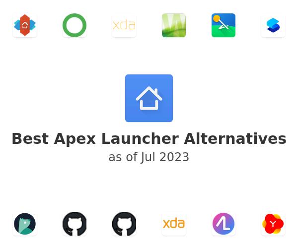 Best Apex Launcher Alternatives