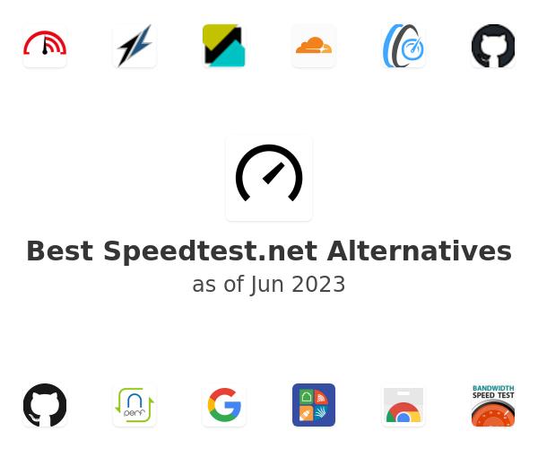 Best Speedtest.net Alternatives