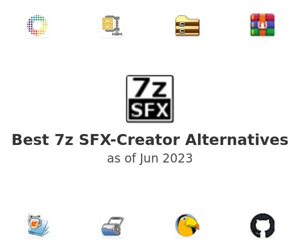 Best 7z SFX-Creator Alternatives