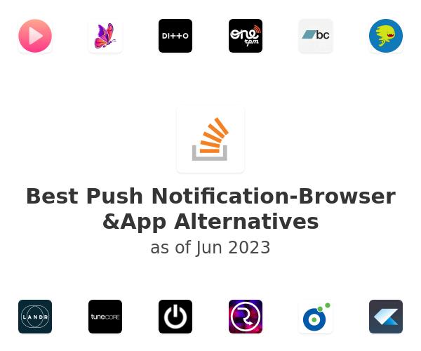 Best Push Notification-Browser &App Alternatives